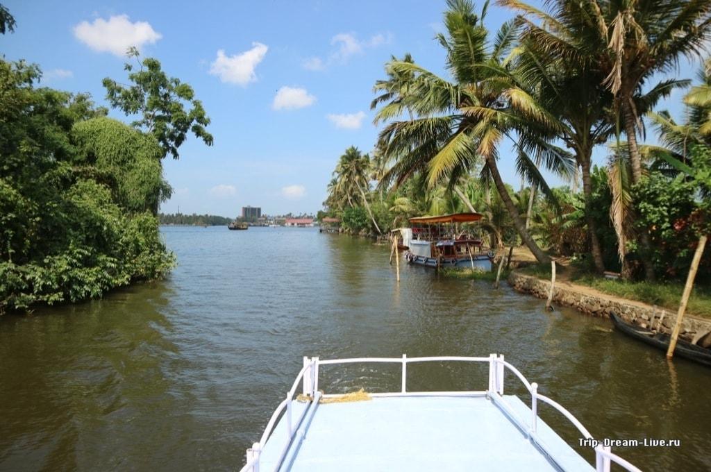Прогулка на лодке по каналам Аллеппи