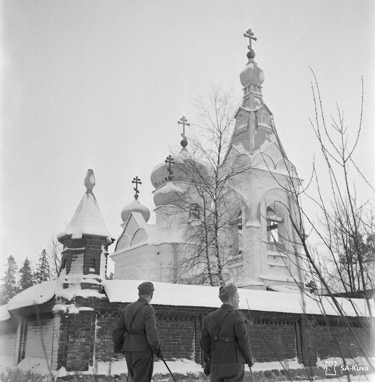 1942. Коневский скит