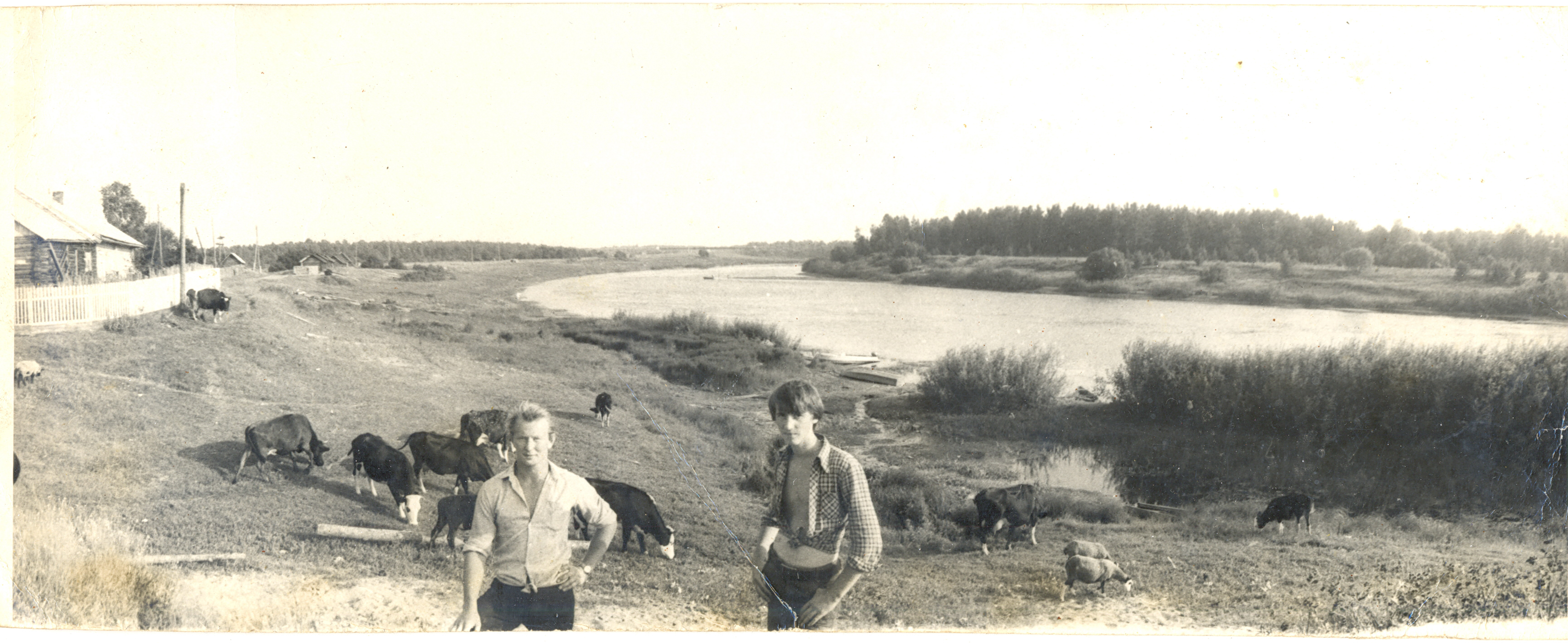 1980. У реки Чагодоща