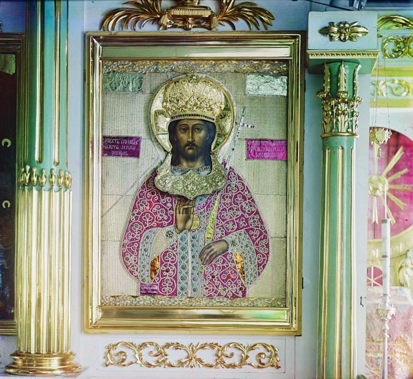 Горицкий монастырь. Икона Спасителя