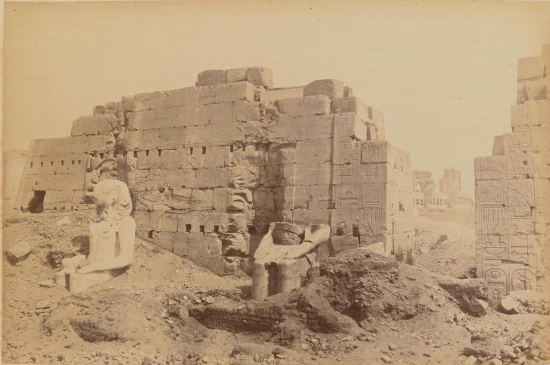 Карнак. Пилоны древних храмов