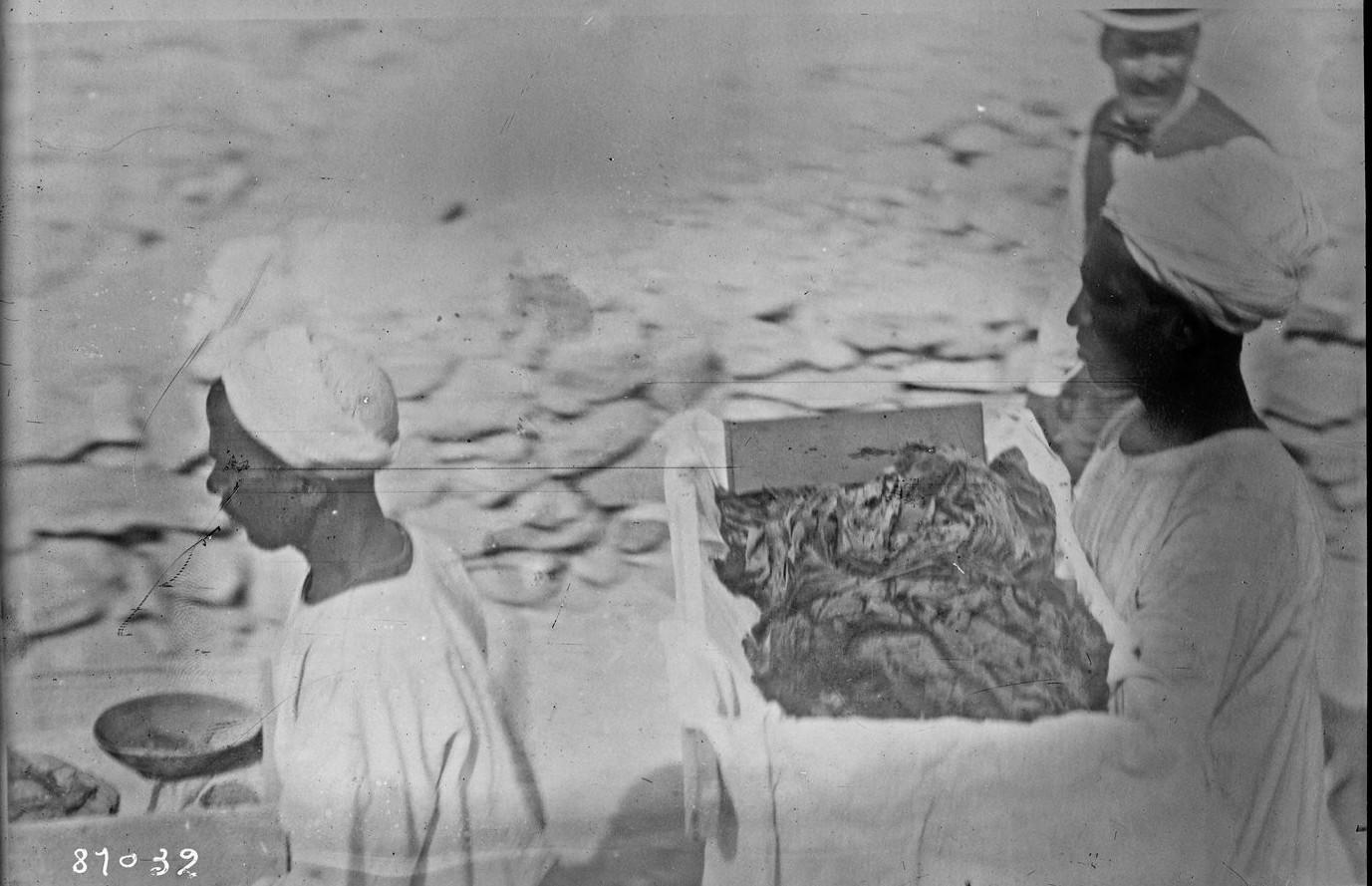 Транспортировка сокровищ из гробницы фараона