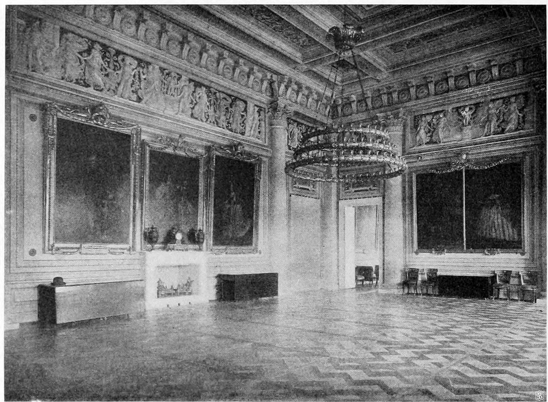 Английский дворец. Столовая