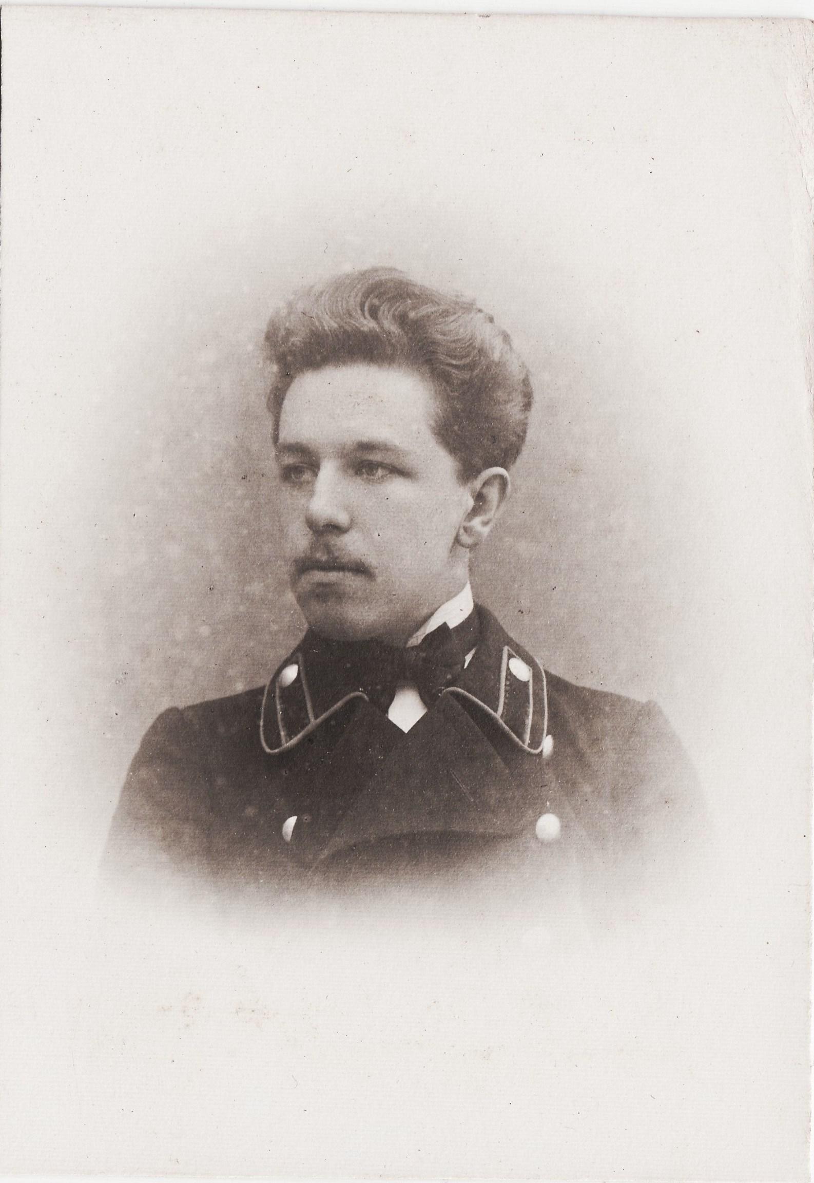 Студент Семеновский Владимир. I отделение разряд 2