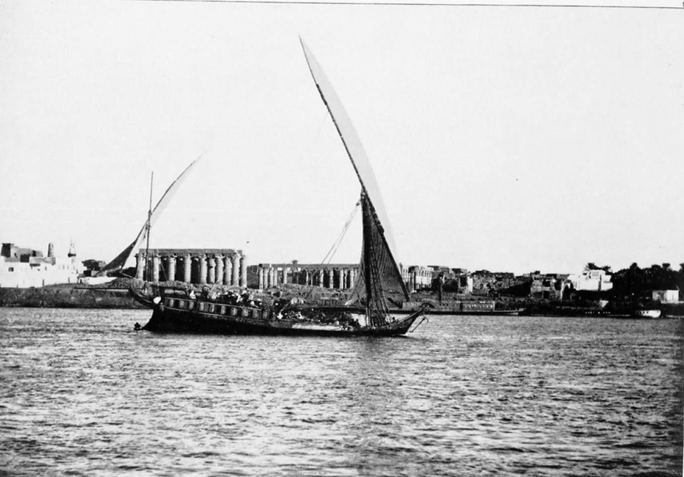 Луксор. Вид с Нила