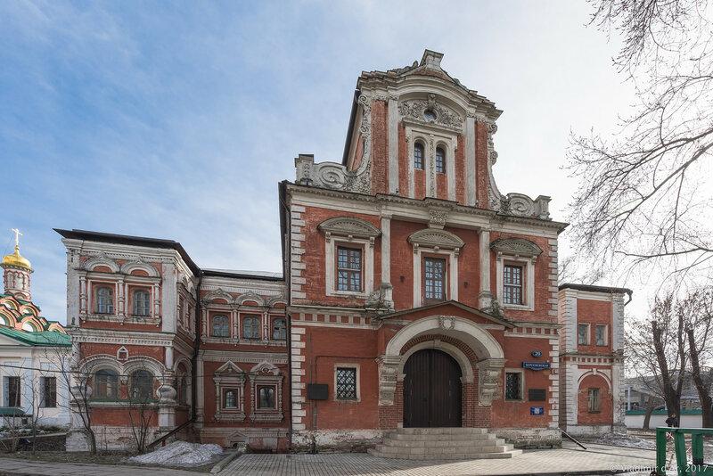 Палаты думного дъяка Аверкия Кириллова на Берсеневке