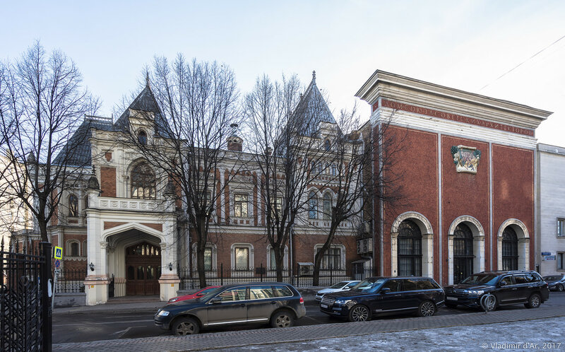 Центральный Дом Архитектора. Гранатный переулок.