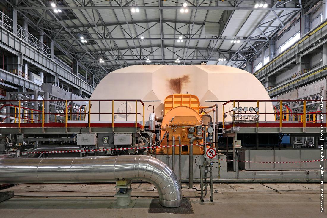 турбина машинный зал 6 нововоронежская аэс