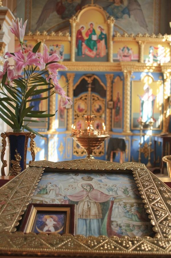 """Икона Богородицы """"Всех скорбящих Радость"""""""