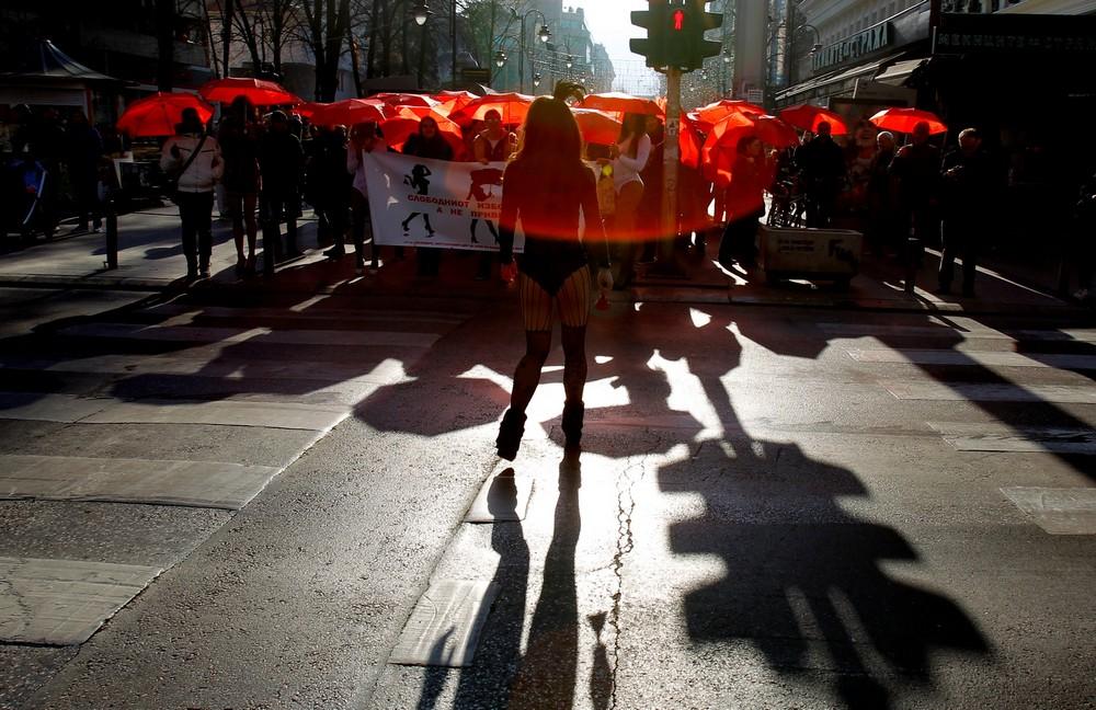 Шествие секс-работников в Македонии