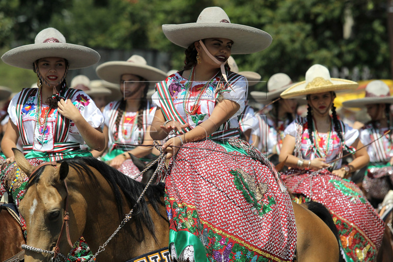 MEXICO INDEPENDENCE PARADE