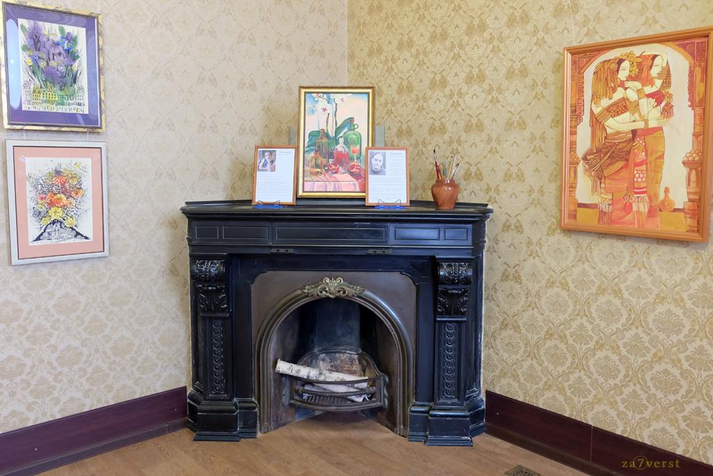 Дом-особняк М.А. Павлова в Шуе, выставка художников