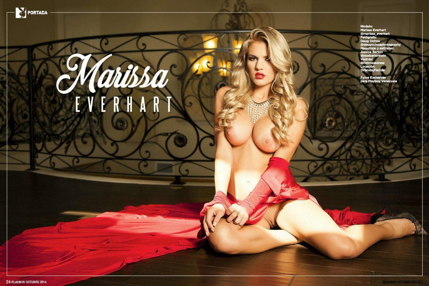 Мисс октябрь Marissa Everhart Playboy Venezuela october 2016