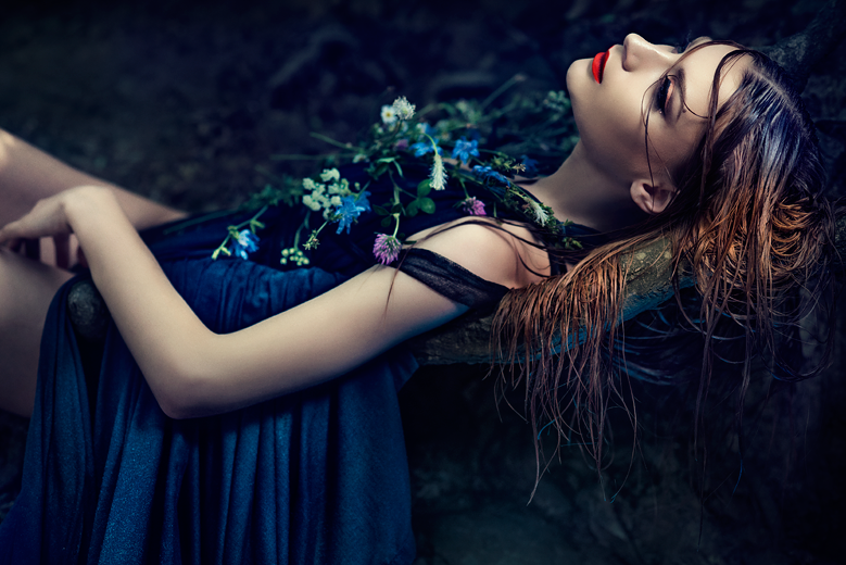 Офелия Amalia Liouta / foto Simona Smrckova