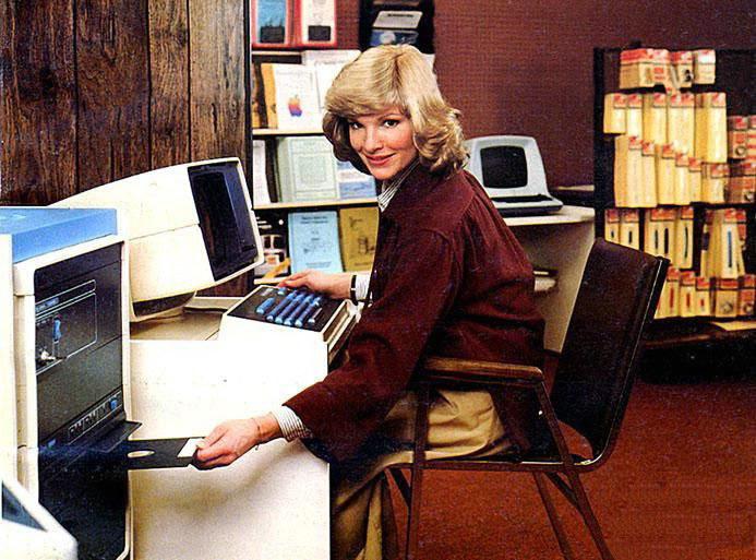 Старые компьютеры из прошлого века — много интересных фотографий