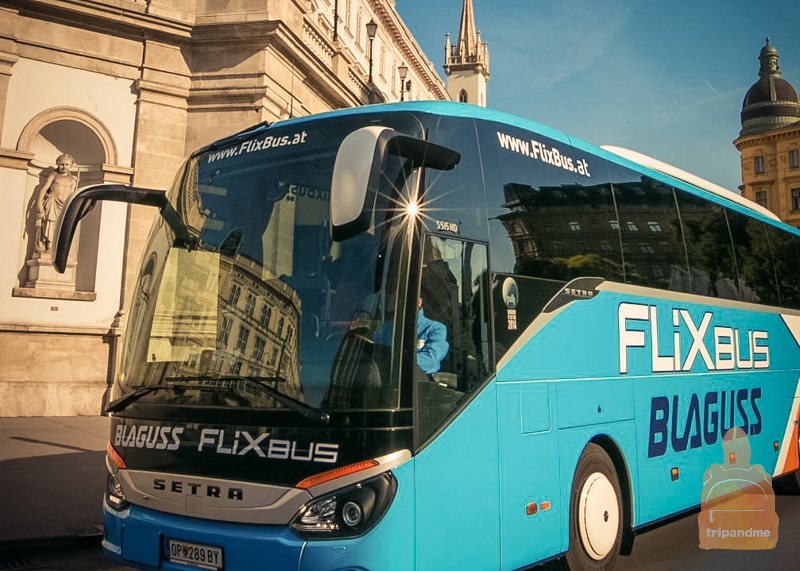 Автобус из Вены довезет до венгерского Дьёра