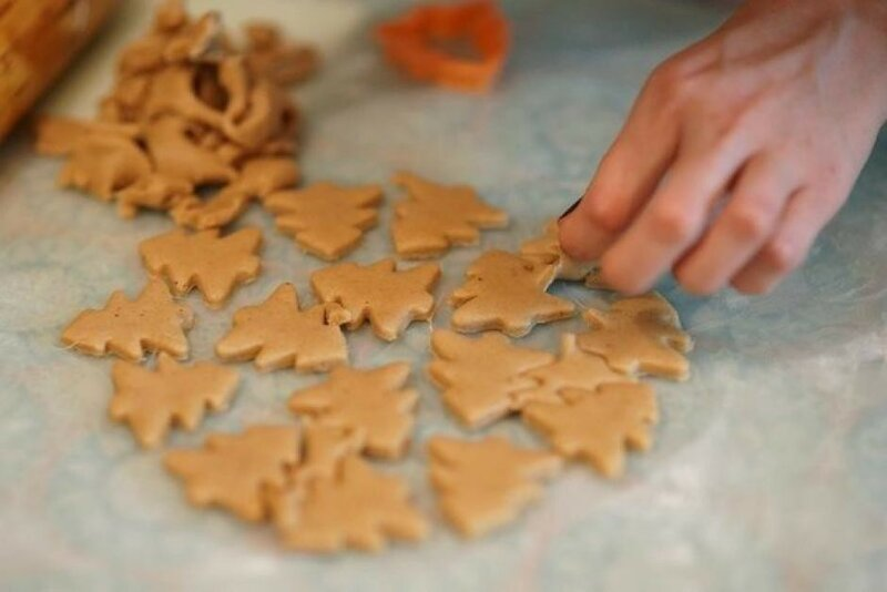 Вкусное имбирное печенье к новогоднему чаепитию