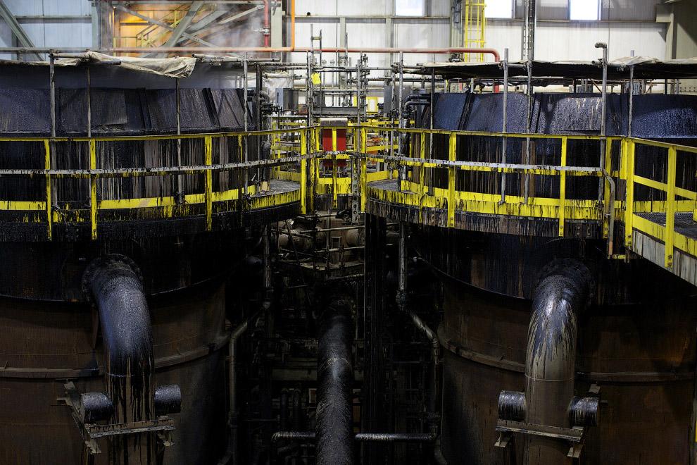 7. Вся мировая добыча нефти составляет около 84 Мб/д. Таким образом, хотя запасы битуминозных п