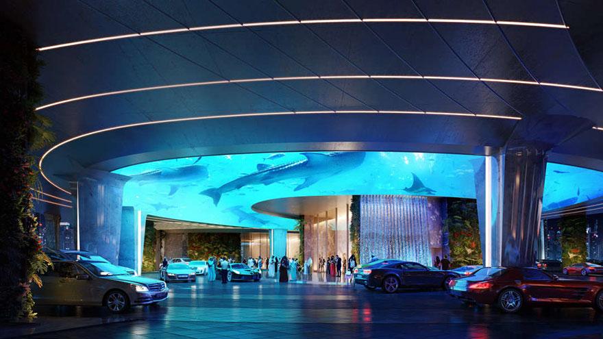 В Дубае открывается первый в мире отель с искусственными дождевыми лесами