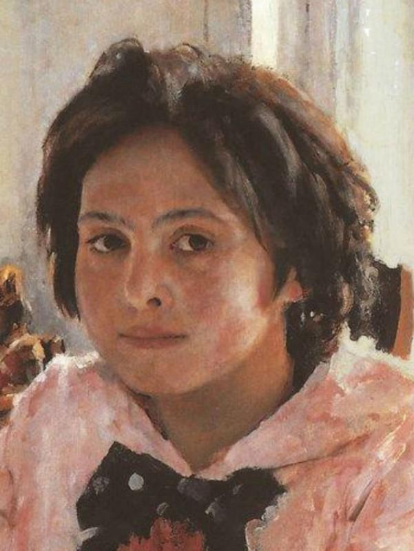 Веру Мамонтову все русские люди знают по портрету Валентина Серова «Девочка с персиками». Существует