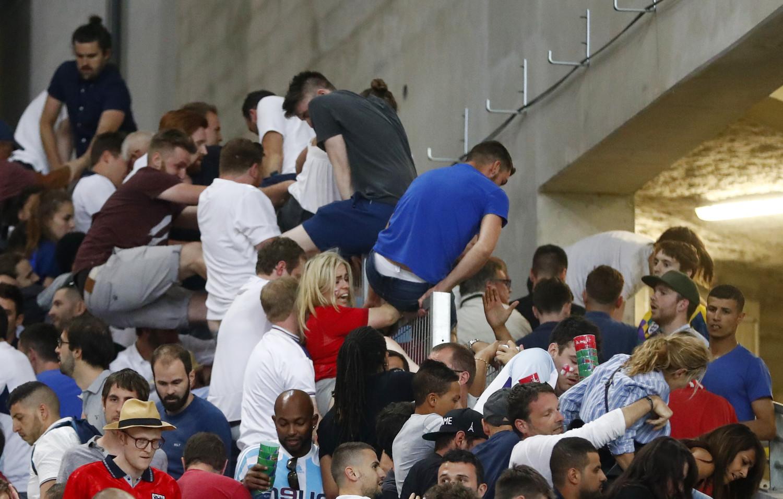 Беспорядки на матче Россия — Англия