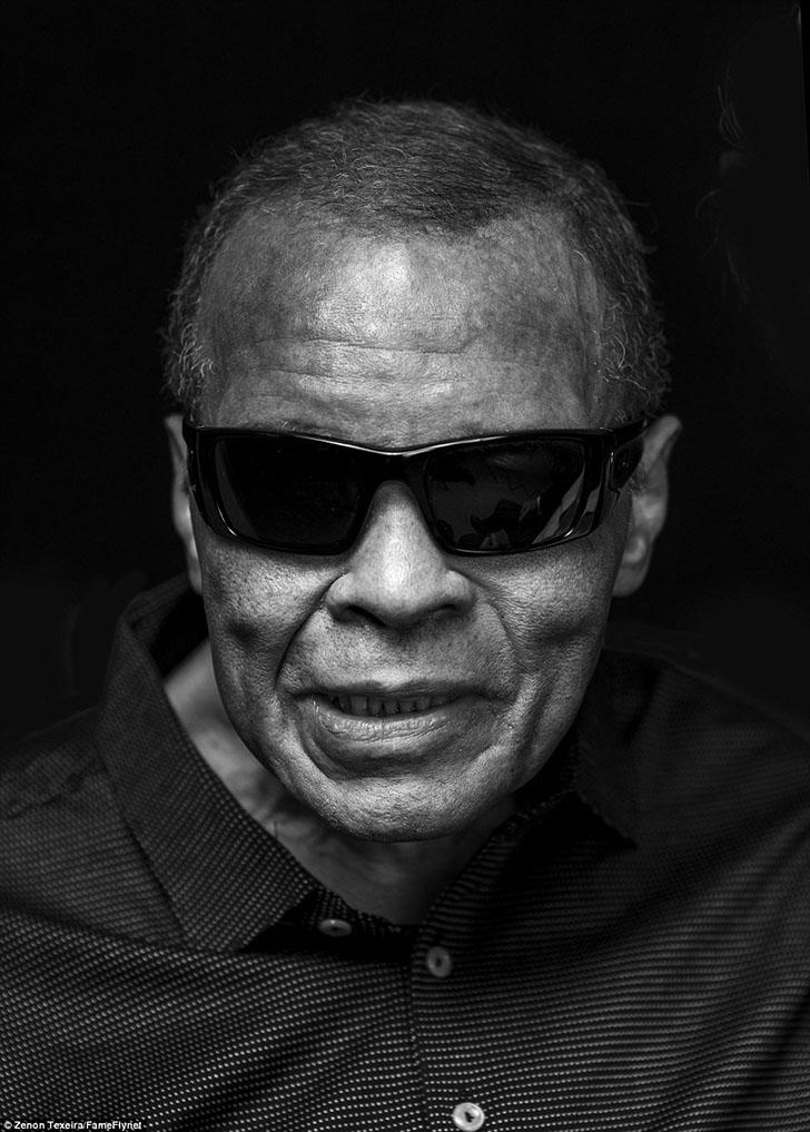 Последняя фотосессия Мохаммеда Али после 32 лет болезни Паркинсона