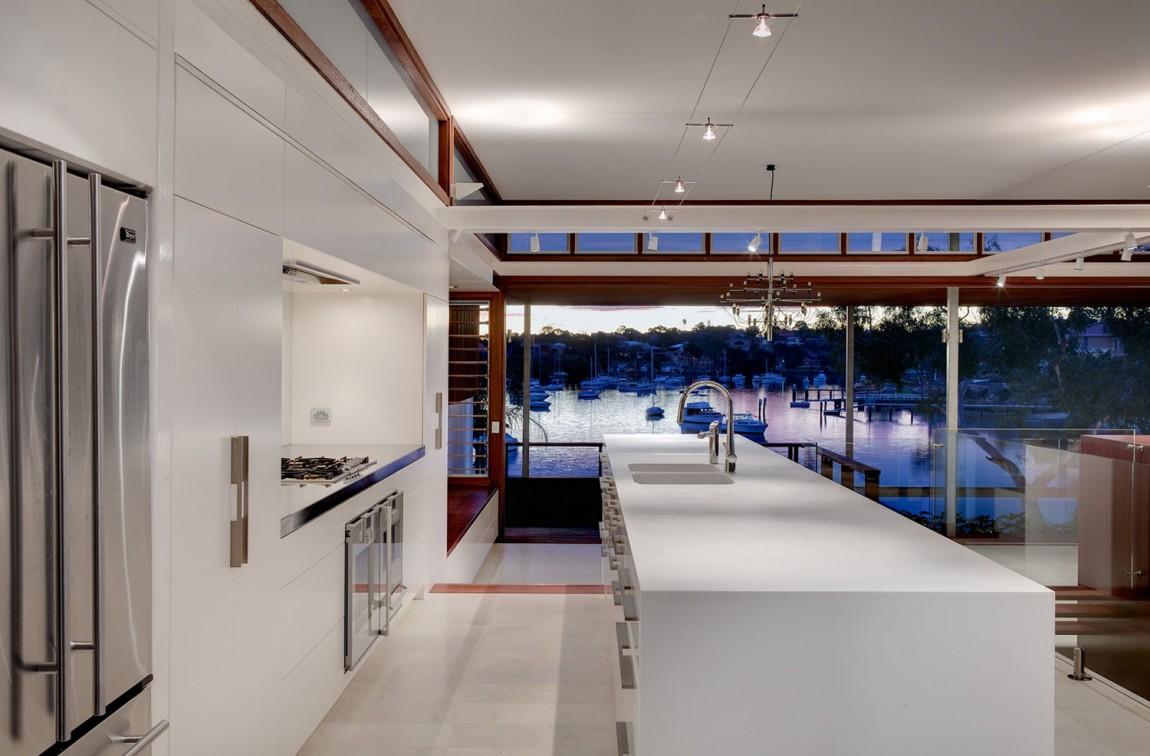 Проект дома Tennyson Point Residence