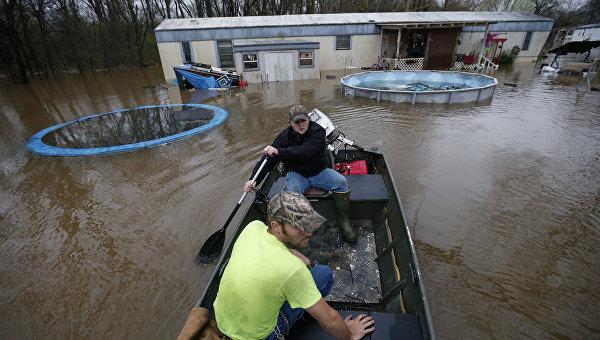 ВСША штат Луизиана стал зоной стихийного бедствия