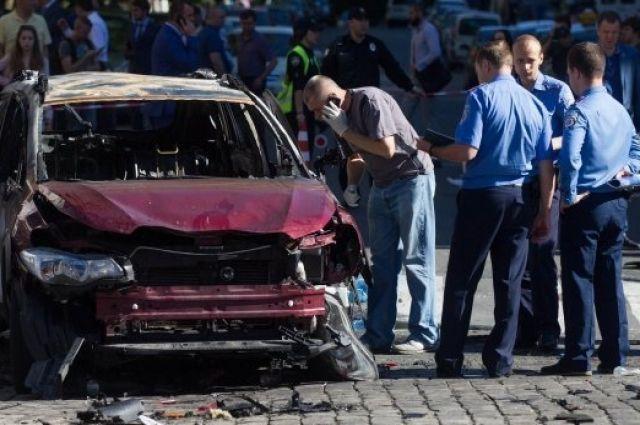 Деканоидзе: впроцессе расследования убийства Шеремета милиция опросила около тысячи человек