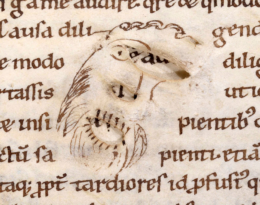 Bamberg, Staatsbibliothek, Msc.Patr.41, fol. 69r. Detail.