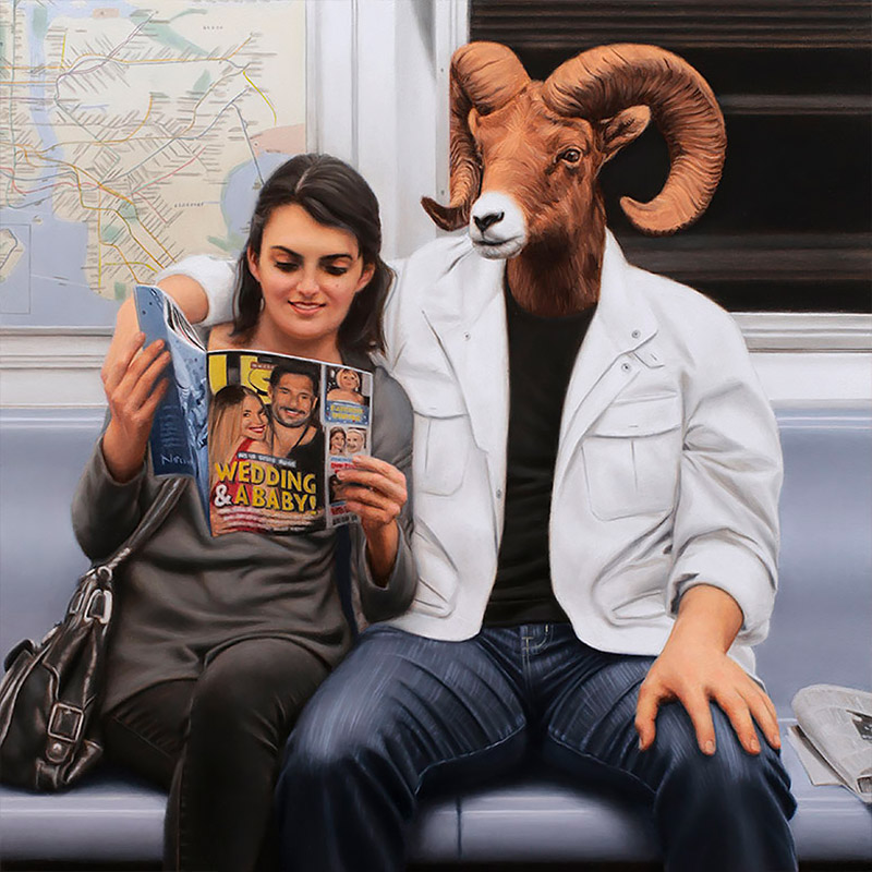 Paintings by Matthew Grabelsky