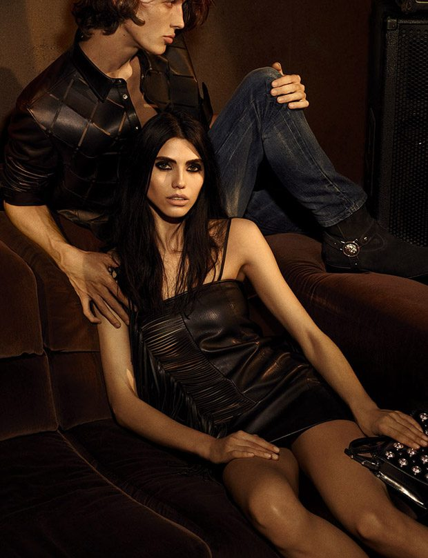 Versus Versace Last Ads Under Anthony Vaccarello's Creative Direction