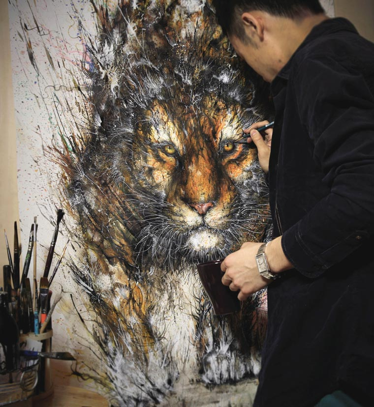 The powerful creations of Hua Tunan