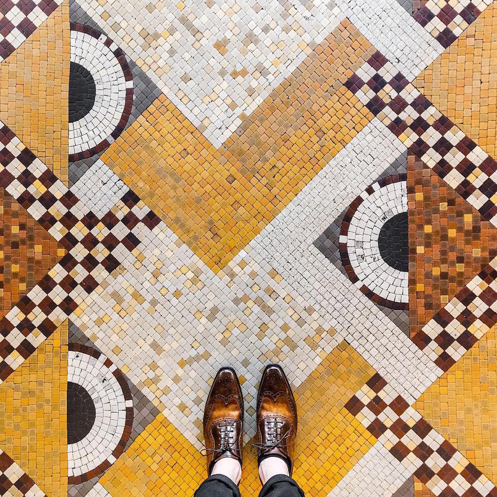 New European Mosaic Floors Captured by Photographer Sebastian Erras