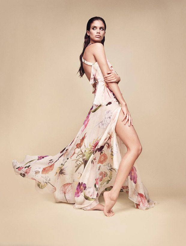 Sara Sampaio Stuns for Blumarine Spring Summer 2017 Campaign