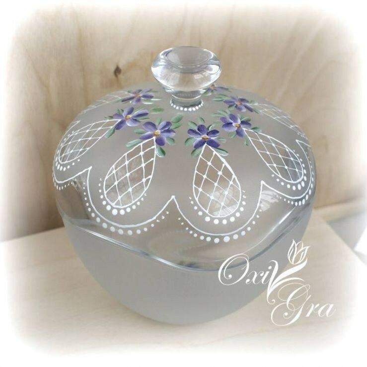 Роспись посуды Oxi Gra