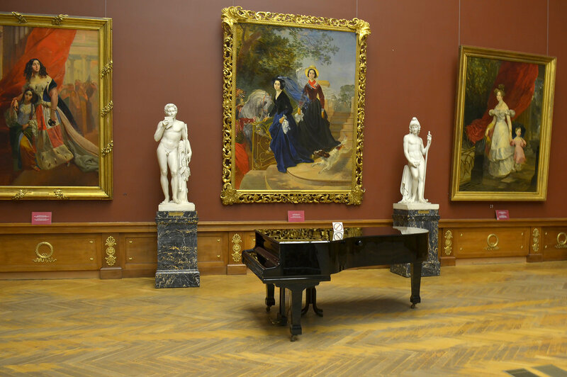 В Русском музее...