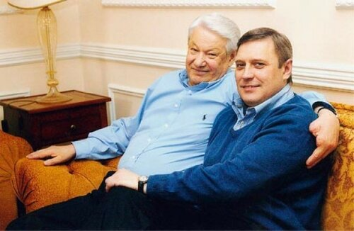 Ельцин и Касьянов