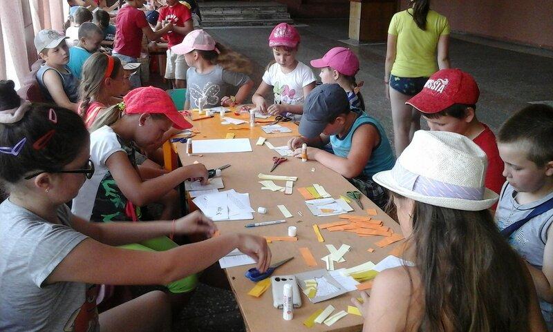 Игровая программа «Детские забавы» для детей дворовой площадки в с. Пурех