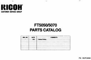 service - Инструкции (Service Manual, UM, PC) фирмы Ricoh - Страница 4 0_1b2964_89002fa_orig