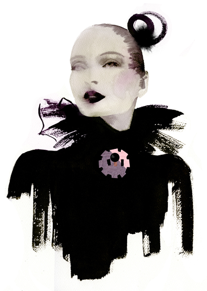 Awesome Fashion Illustrations by Cacilia Carlstedt