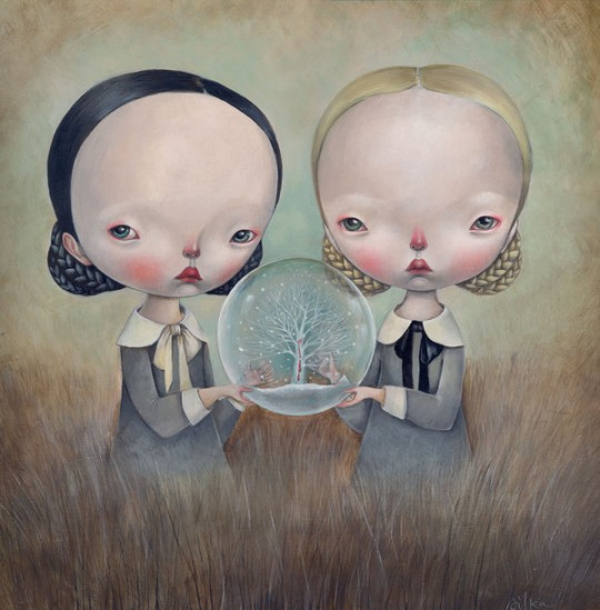 Incredible Paintings by Dilka Bear