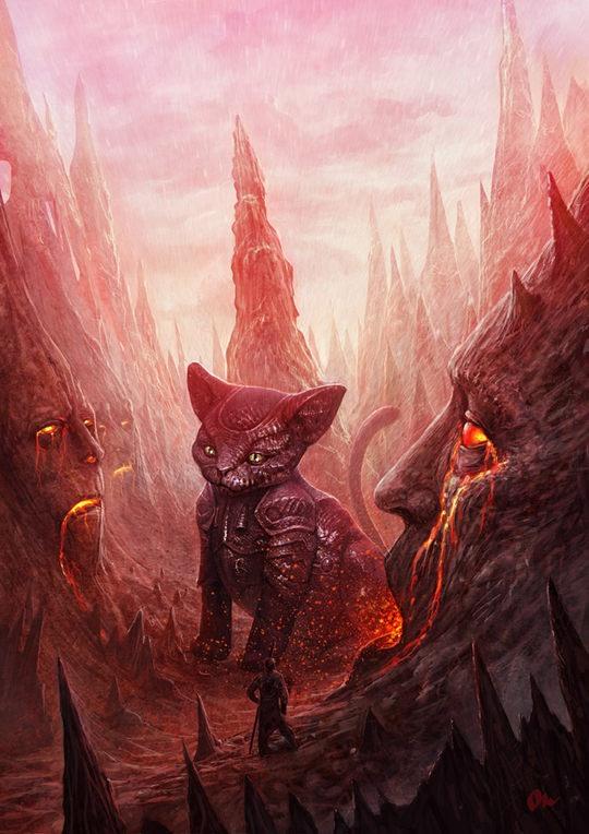 Fantasy Art by Martin de Diego Sadaba