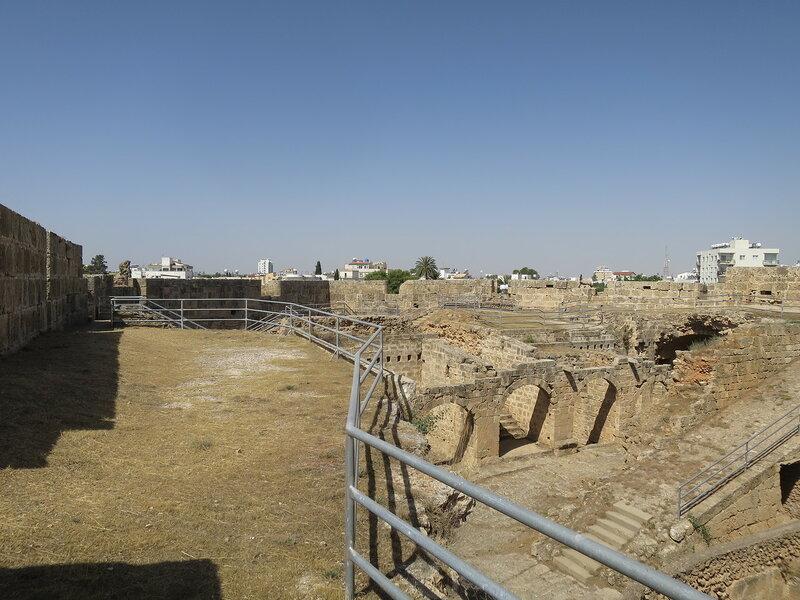 Фамагуста. Город. Внутренние постройки бастиона Риветтина