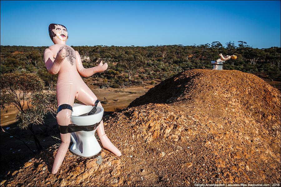 Развлечения австралийских дальнобойщиков