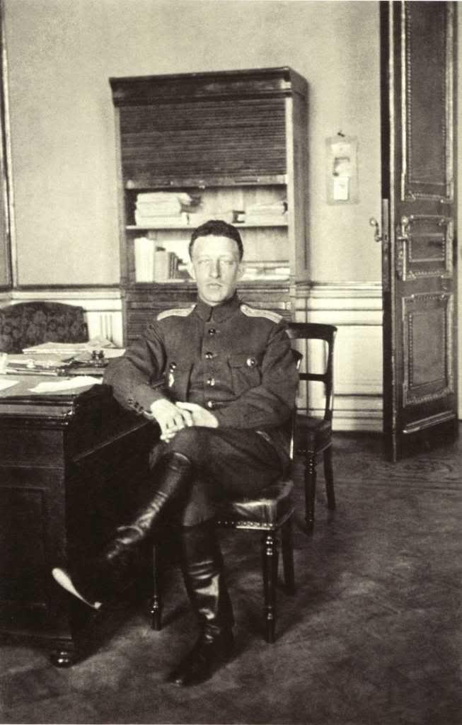 1917. Александр Блок, член чрезвычайной следственной комиссии Временного правительства во время работы в Зимнем дворце