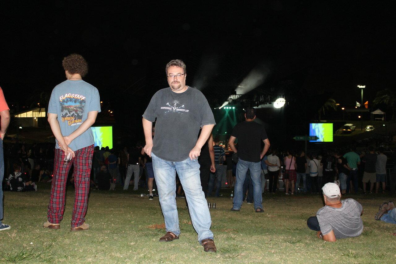 16.06.2016. Концерт Элиса Купера в амфитеатре Раананы