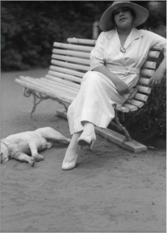 1920-е. В парке