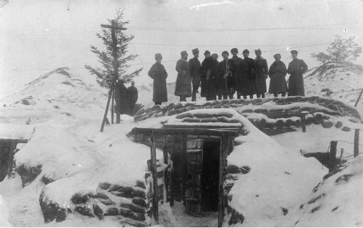 Штаб 267-го пехотного Духовщинского полка