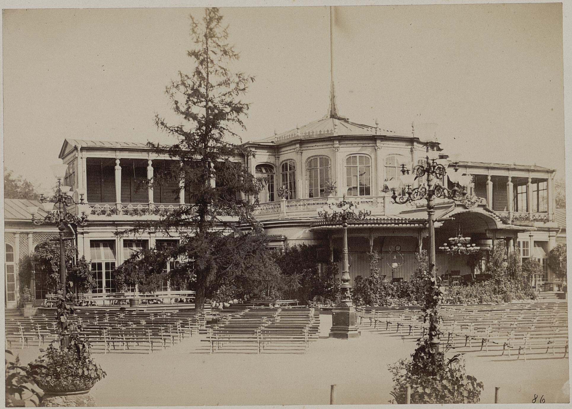 Вокзал. 1865